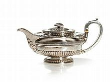 Sterling Silver Teepot, George IV, London, 1815
