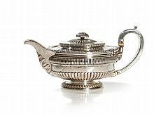 Sterling Silver Teepot, George IV, London, 1815