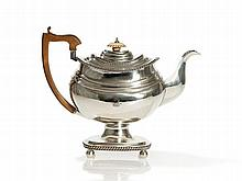 Regency Sterling Silver Pot, William Bateman, London, 1817
