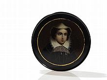 Stobwasser Snuff Box 'Mary Stuart', Brunswick, early 19th C