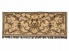 Abundantly Embroidered Silk Antependium, Italy, circa 1700