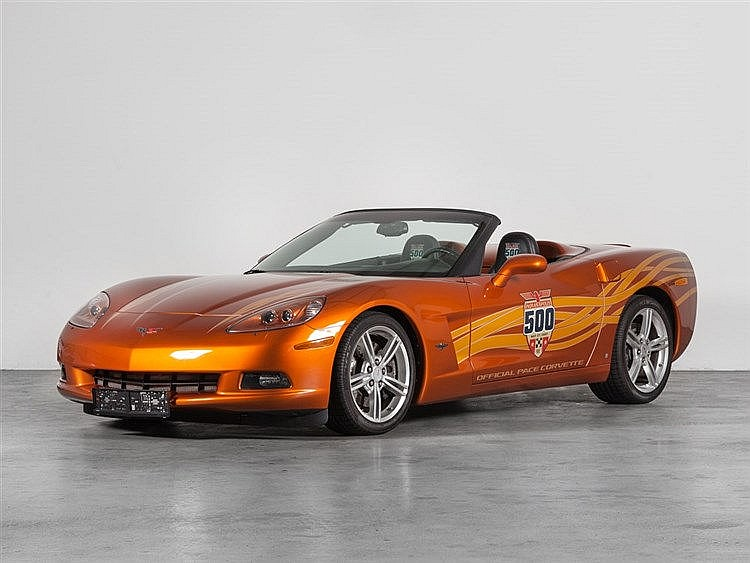 Chevrolet Corvette C6 Indy 500 Pace, Model Year 2007
