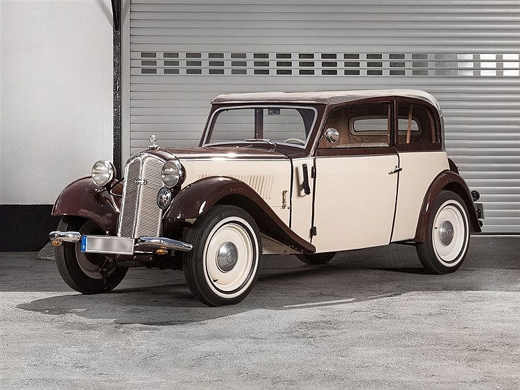 DKW F5 Cabriolimousine, Model Year 1935