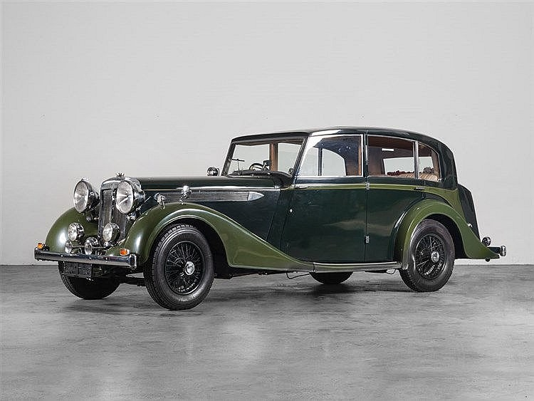Daimler Light Straight-Eight, Model Year 1938