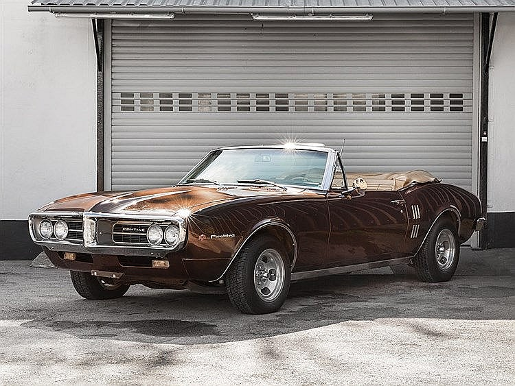 Pontiac Firebird Convertible, Model Year 1967