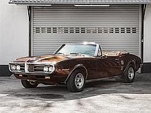 Pontiac Firebird Convertible, Model Year 1967