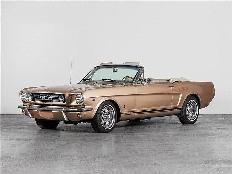 Ford Mustang 239 V8 Cabriolet, Model Year 1966