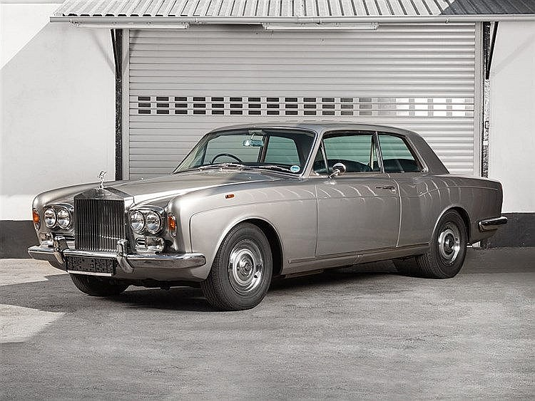 Rolls Royce, Silver Shadow I Corniche, model year 1970