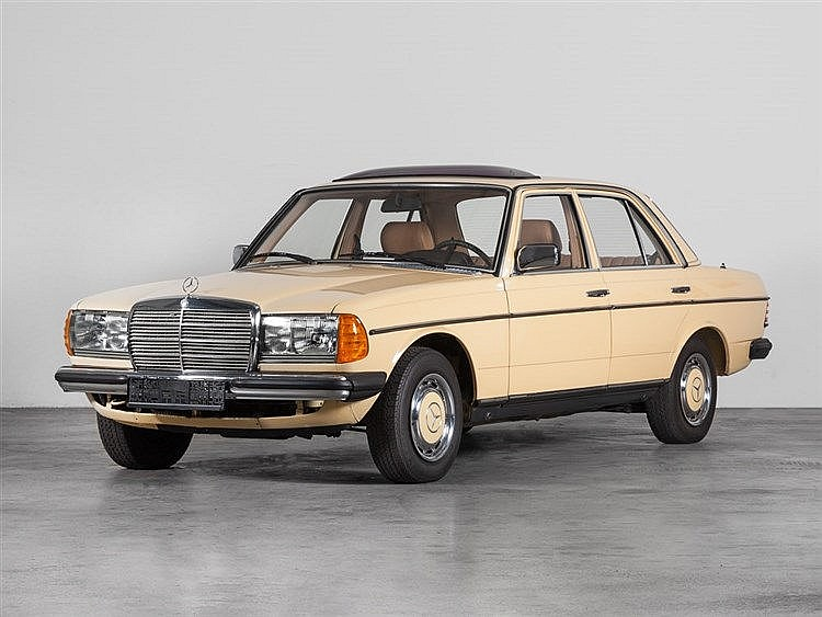 Mercedes-Benz 250 Typ 123, Model Year 1980