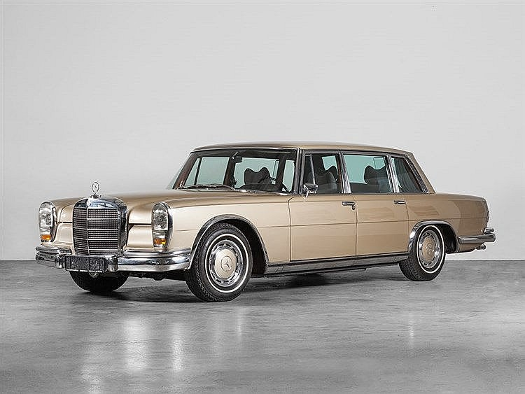 Mercedes-Benz 600 W100 Limousine, Model Year 1970
