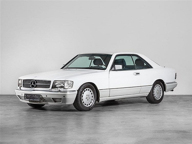 Mercedes-Benz 560 SEC Coupé, Model Year 1989