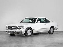 Mercedes-Benz 560 SEC Coupé, Model Year 1989