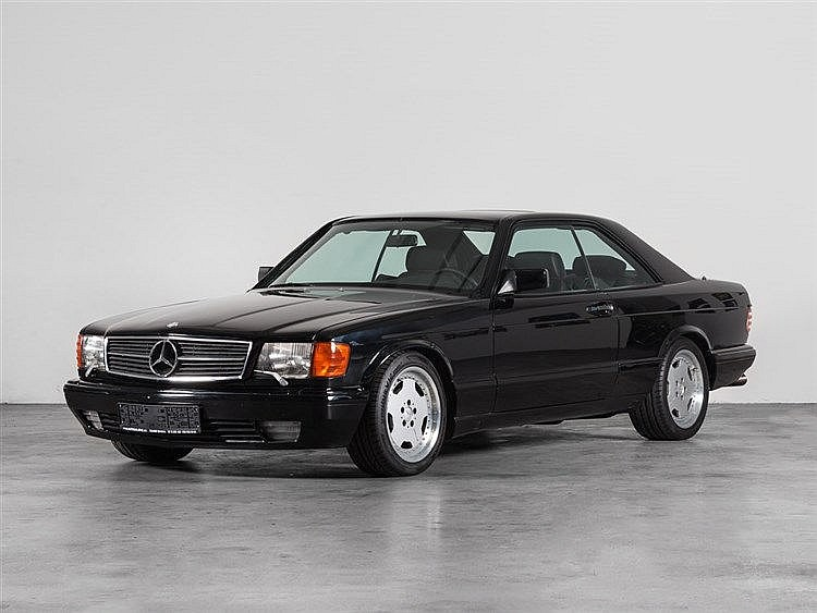 Mercedes-Benz 560 SEC 560 Coupé, Model Year 1989