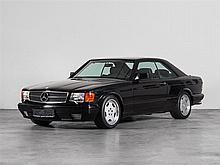 Mercedes-Benz 560 SEC 560 Coupé, Model Year 1989
