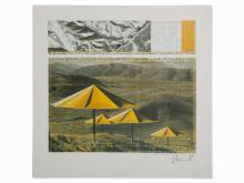 Christo & Jeanne-Claude, The Umbrellas, Offset, 1991