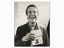 Signed Portrait of John Cage, Gelatine Silver Print, 1979