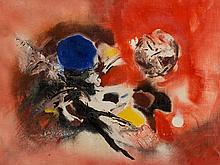 Edmondo Bacci, Avvenimento # 267, Oil Painting, 1957