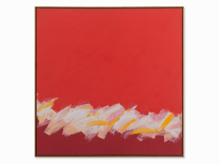 Claudio Verna, Il Fatto Mio, Oil Painting, 1982