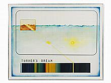 Guido Biasi, Turner's Dream, Oil Painting, 1971