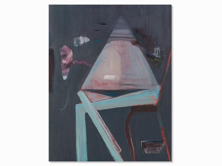 Susi Juvan, Ohne Dich, Oil Painting, 1987