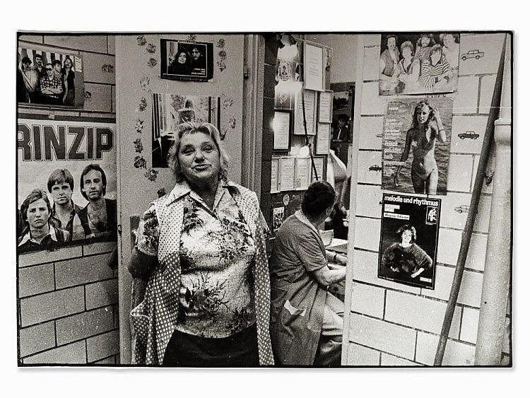Olaf Martens (b. 1963), 'Öffentl. Toilette', GDR, 1986