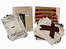 Antoni Tapies, Berlin-Suite, Complete Portfolio, 1974