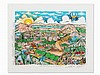 C. Fazzino, The Sun Shines on the Holy Land, 3 D Graphic, 2000, Charles Fazzino, €1,000
