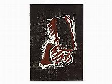 Markus Lüpertz, Abstract Composition, Linocut, c. 1982