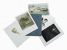 Portfolio, Graphikmappe MMK, 5 Prints, 1994