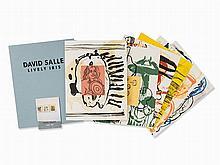 David Salle, Lively Iris, Complete Portfolio, 1992