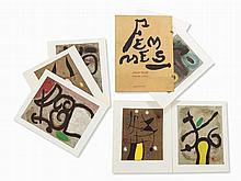 Joan Miró, Femmes, Portfolio, 1965