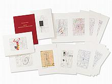 Hermann Nitsch, Frühe Architekturzeichnungen, Portfolio, 2007
