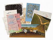 Portfolio Art Zanders 80, 5 Graphic Works, 1980