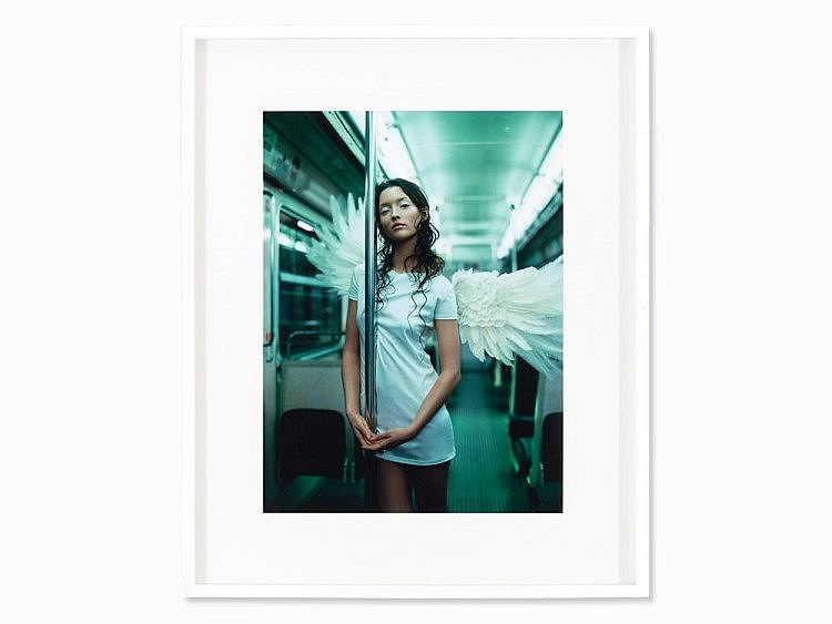 Jean-Baptiste Mondino, 'Subway Angel', c. 1997