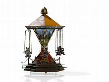 Bergmann Vienna Bronze, 'Musical Cats´ Carousel', around 1950