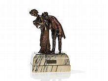 Carl Kauba, Vienna Bronze 'Perfectly Healthy', around 1900