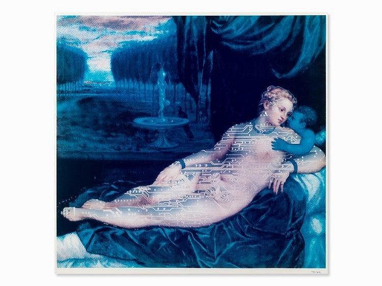 Lynn Hershman Leeson, Digital Venus III, Iris Print, 1996