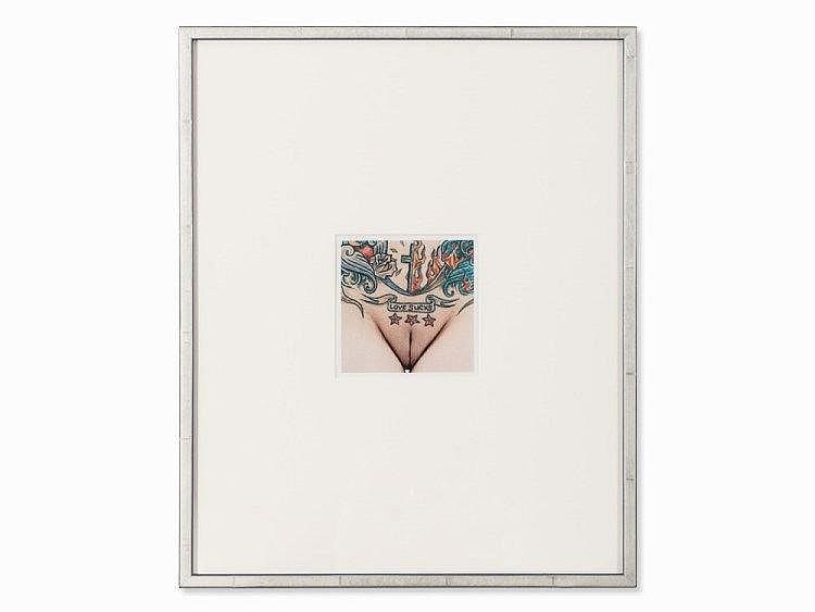 Herlinde Koelbl, Schamhaare (Love Sucks), Lambda-Print, 2007