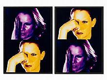 Katharina Sieverding, Nachtmensch, Diptych, 1982