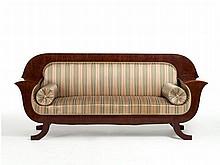 Karl Johan Style Sofa, presumably Sweden, around 1825/35