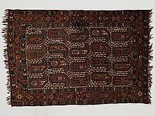 Gashgai nomad carpet with botehs, Iran, 160.000 knots/m2