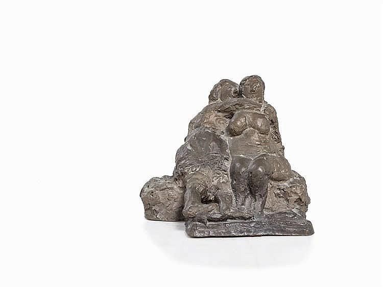Alfred Hrdlicka (1928-2009), Sappho, Figural Bronze, 1957/72
