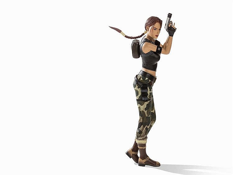 Lifesize Figure Lara Croft 'Angel Of Darkness', E. 21st C.