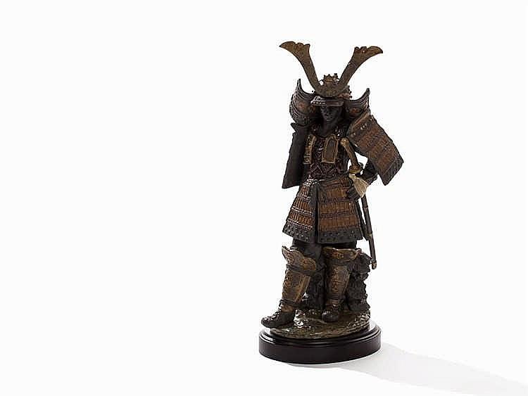 Lladró, Samurai, Porcelain, Spain, 1995-2007