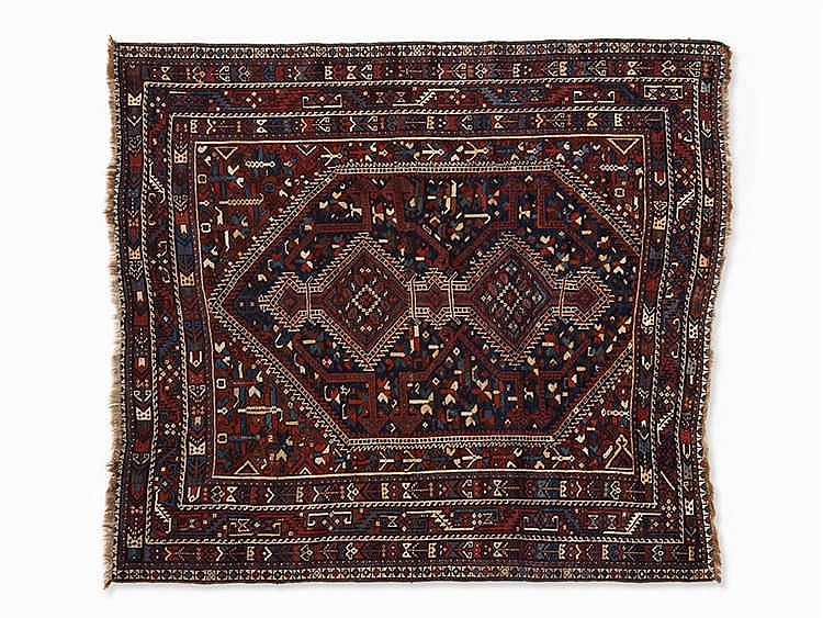 Persian carpet, Shiraz, Iran, 2nd H. 20th Century