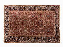 Isfahan with Flower and Tendril Pattern, Persia, c. 1950