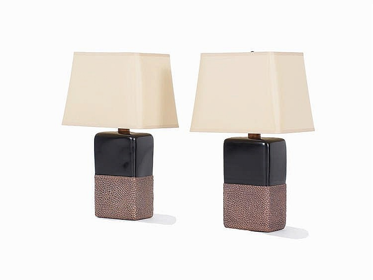 Robert Kuo, Two Table Lamps, USA 2015