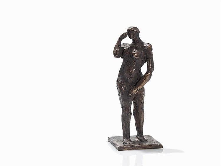 Berndt Wilde (b. 1946), Bewegung, Bronze Figure, 2004
