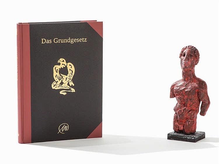 Markus Lüpertz, Das Grundgesetz, Bronze Sculpture, 2013