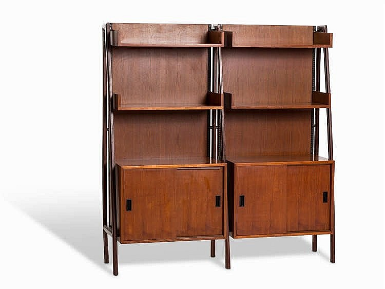 Mid Century Design Storage Unit, Scandinavia, 1950s